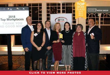 BTX Top Workplaces 2018