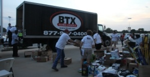 BTX Collection Center for Austin Aid